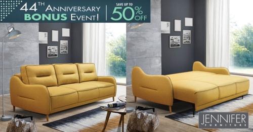 Jennifer Furniture 44th Anniversary Event– Buy the Most Uniq... via JenniferFurniture
