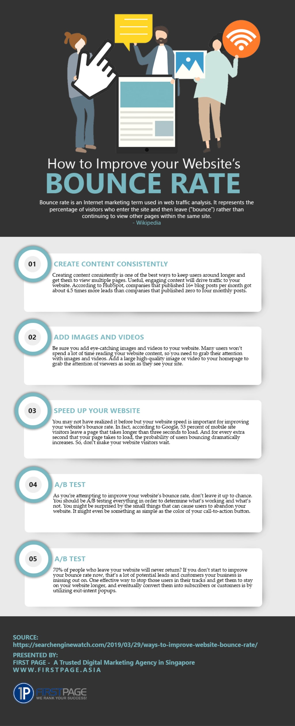 SEO Guide: How to Improve your Website's Bounce Rate? via Chester Loke