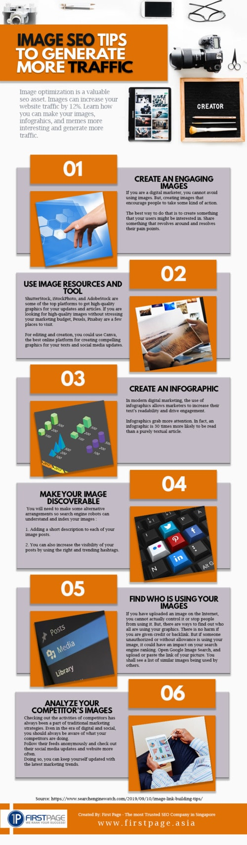 SEO Services | Image SEO Tips To Generate More Traffic via Chester Loke