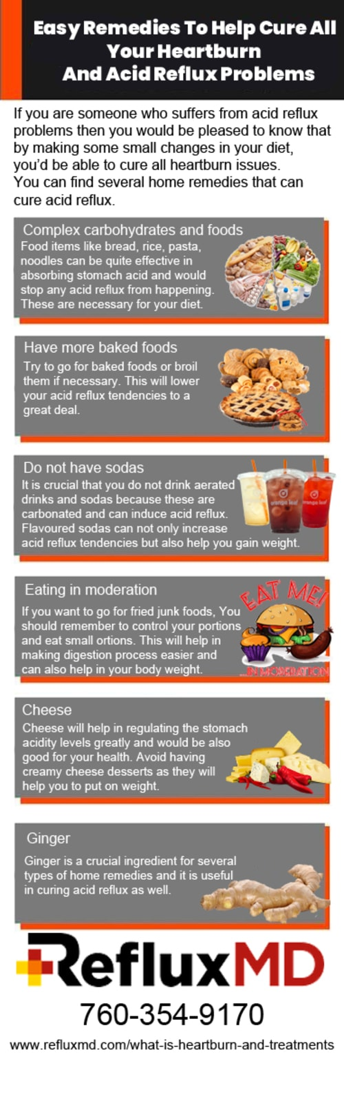 Easy Remedies To Help Cure All Your Heartburn And Acid Reflu... via RefluxMD, Inc.