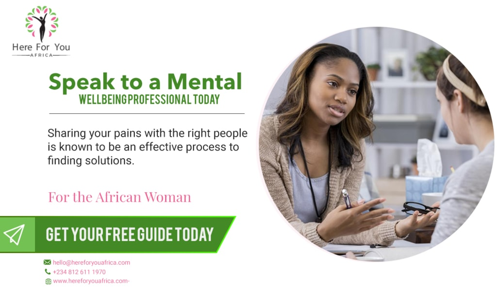 We have made it easy for you to share your emotional or ment... via Here For You Africa Ltd