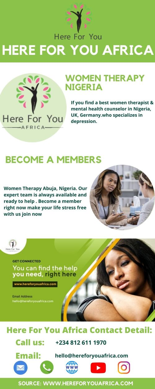 Here For You Africa |  | Mental & Health Services Abuja | Co... via Here For You Africa Ltd