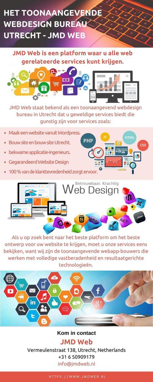 Krijg Alle Weboplossingen Bij Webdesign Bureau In Utrecht - ... via JMD Web
