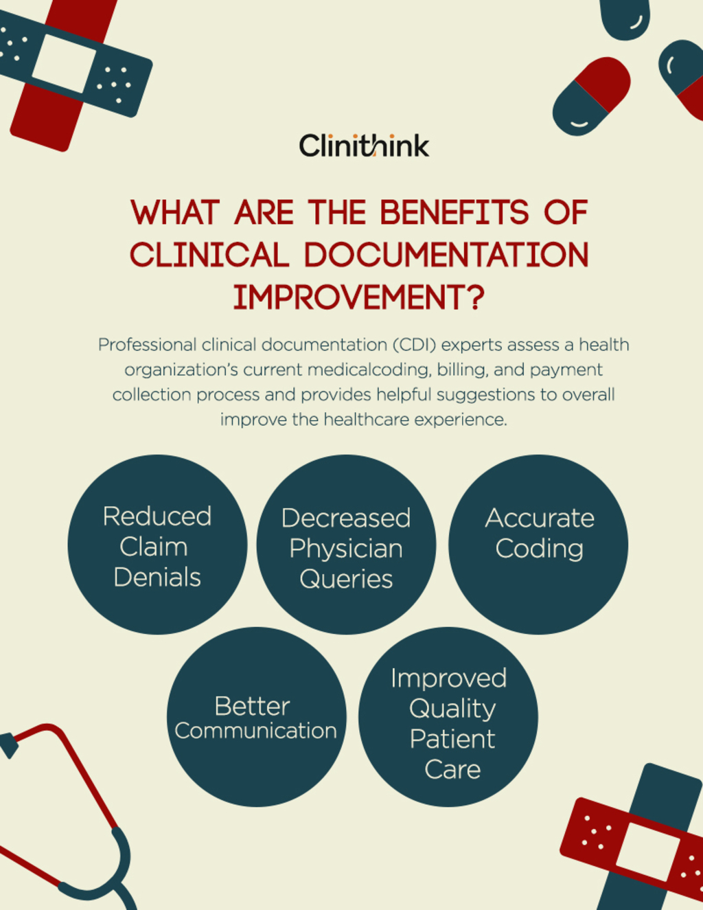 What Are The Benefits Of Clinincal Documentation Improvement via Jack Wilson
