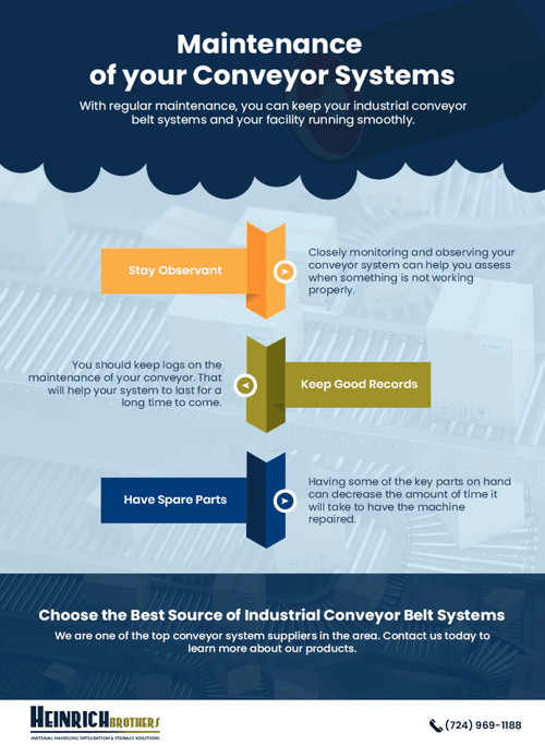 Maintenance of your Conveyor Systems via heinrichbrothers