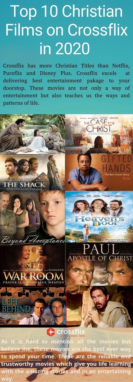 Enjoy Top 10 Christian Films on Crossflix in 2020 via Cross flix