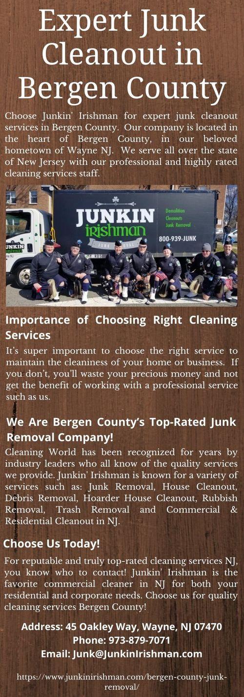 Get Best Junk Cleanout Services in Bergen County via Junkin' Irishman