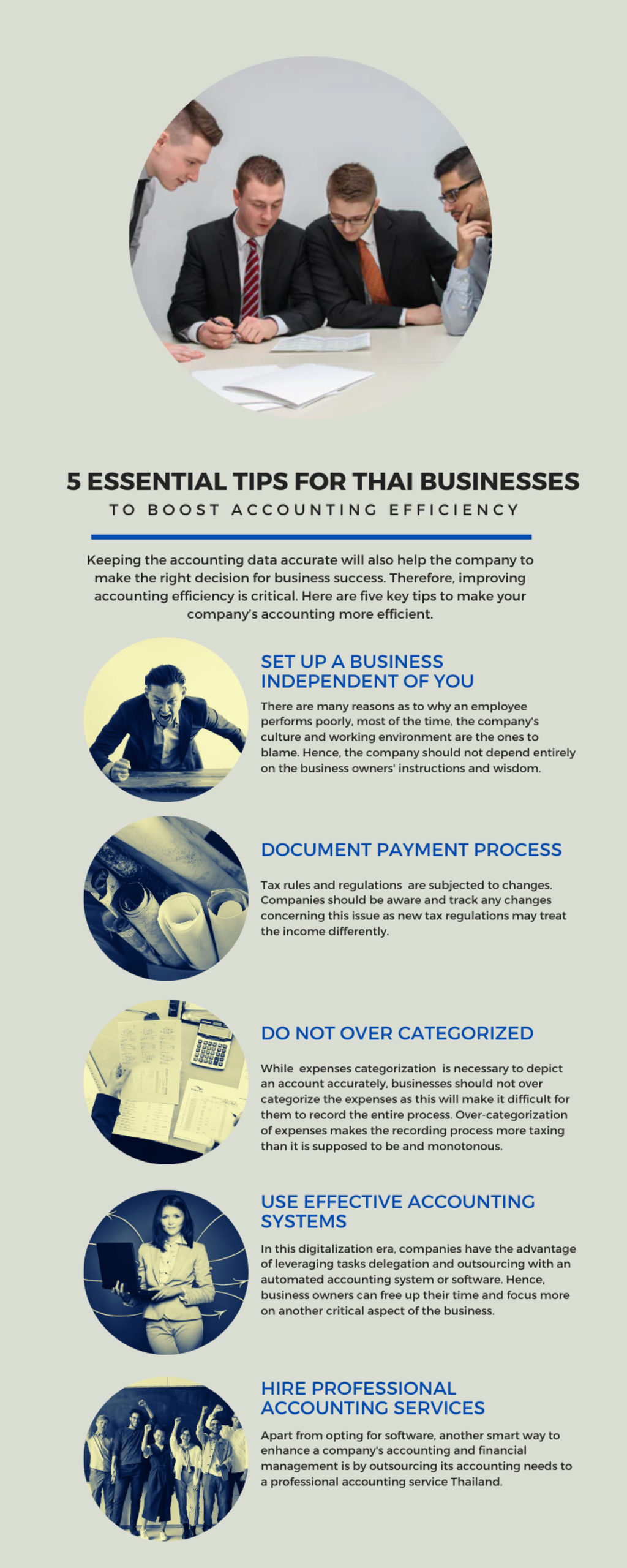 5 Essential Tips for Thai Businesses to Boost Accounting Eff... via Reliance Consulting
