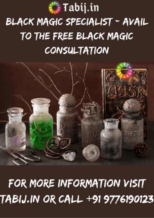 Black magic specialist - Avail to the free black magic consu... via Tabijvashikaran