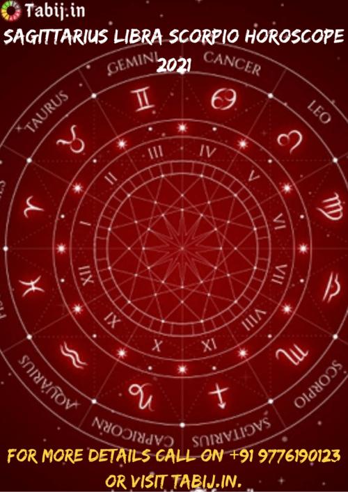 Sagittarius Libra Scorpio horoscope prediction 2021 via Tabijvashikaran