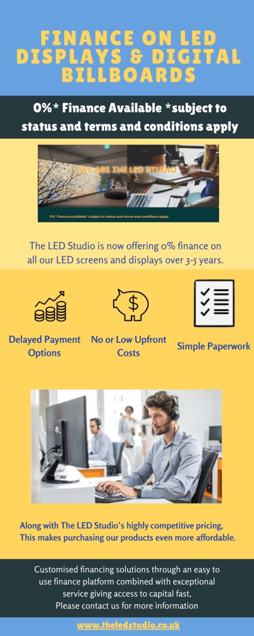 Finance on LED Displays and Digital Billboards via Rob Studio