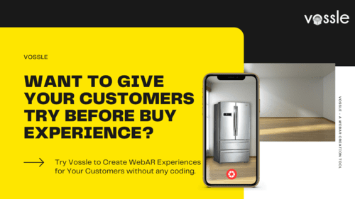Create a WebAR Experience for Your Customers without any cod... via Vossle