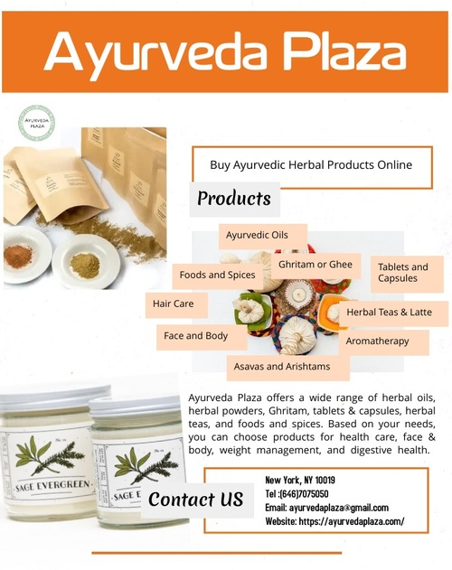 Shop Online Ayurvedic Herbal Products at Low Price via Ayurveda Plaza