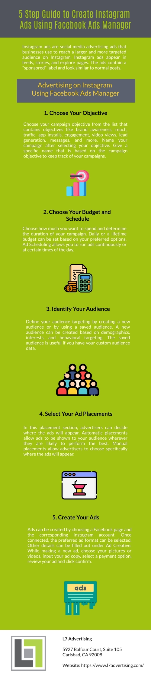 5 Step Guide to Create Instagram Ads Using Facebook Ads Mana... via L7 Advertising